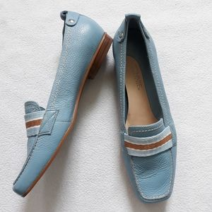 Connie Clearwater Loafers Leather Upper Sz 9.5M